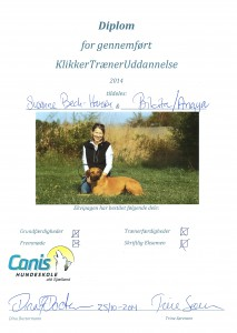 Canis Diplom KlikkerTræner - ver 2